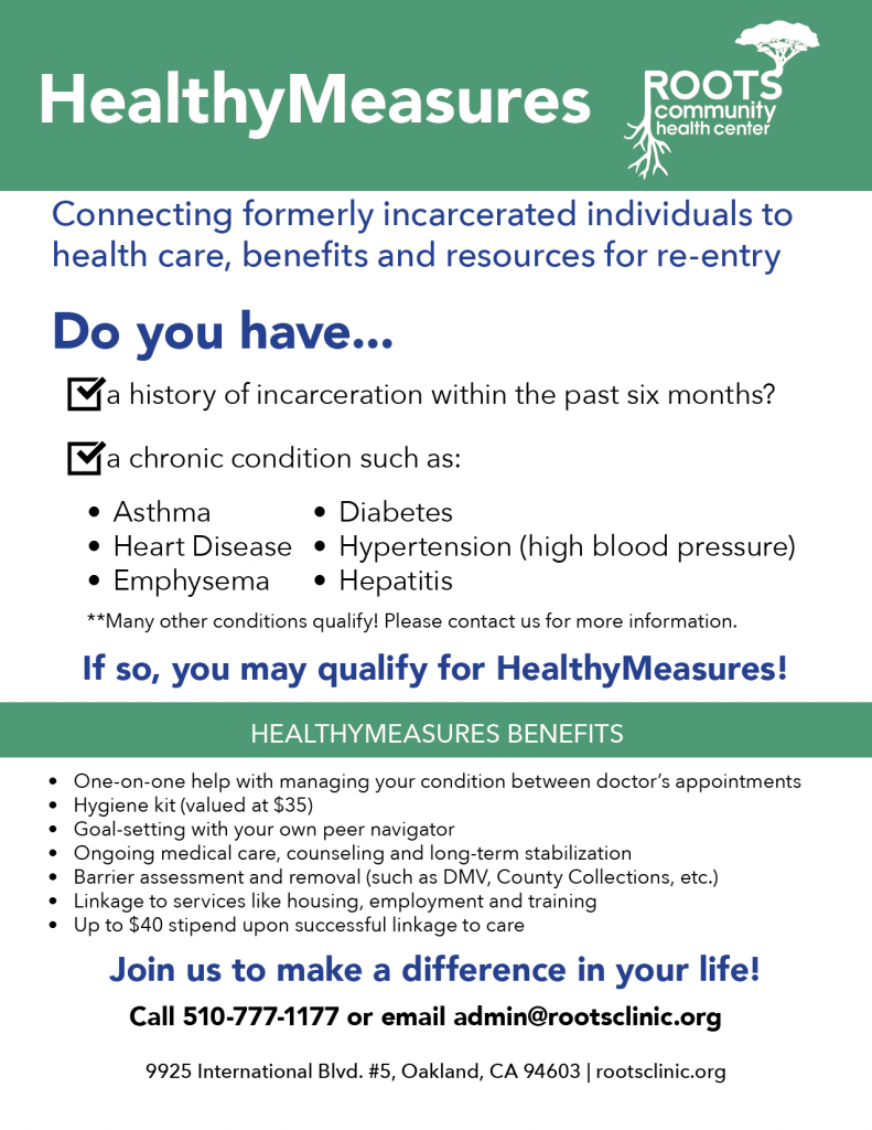 healthymeasures reentry health navigation