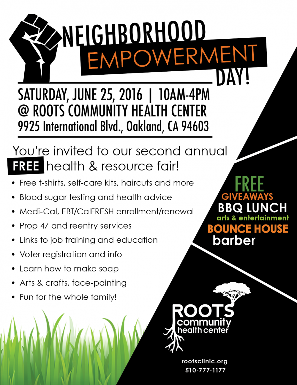 East Oakland 2016 Neighborhood Empowerment Day