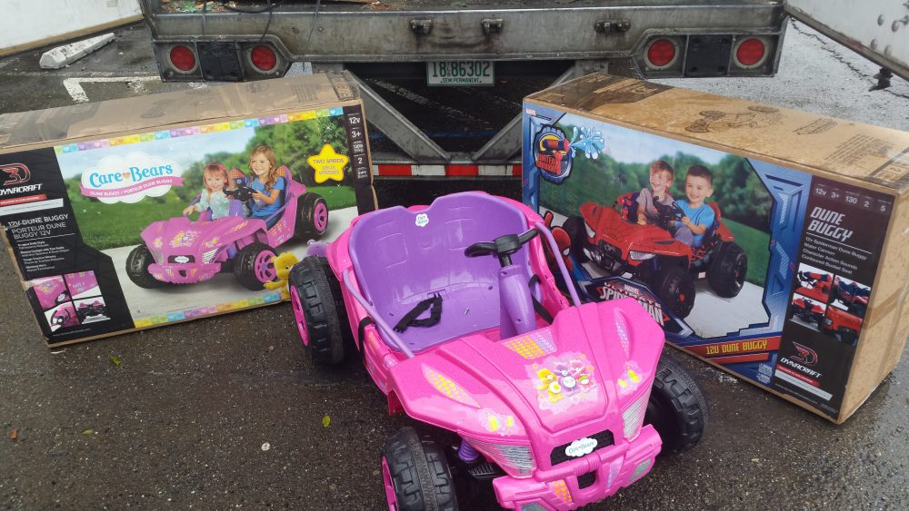 208 Care Bear & Spiderman Dune Buggy Giveaway at Roots!