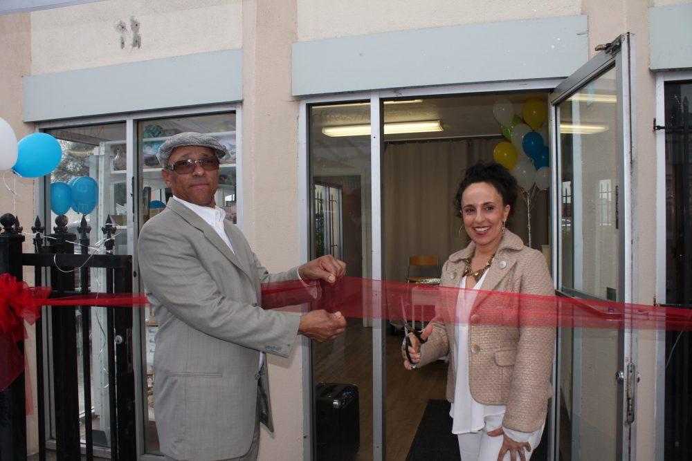 Aquil Naji, COO (Lt.) & Noha Aboelata, MD, CEO (Rt.)